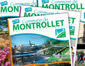 site officiel de la commune de Montrollet - bulletins municipales